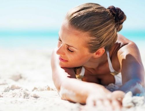 Λαμπερό και νεανικό δέρμα και στην παραλία