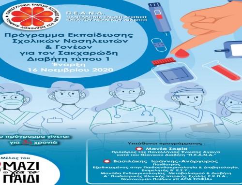 Σακχαρώδης Διαβήτης τύπου 1: Διαδικτυακό Πρόγραμμα Εκπαίδευσης